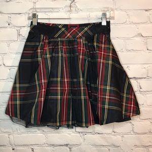 NWOT Gap Girl's size 10 Holiday Plaid Tulle Skirt